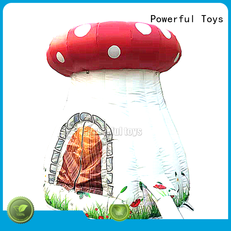 Powerful Toys wholesale clear inflatable tent factory direct supply
