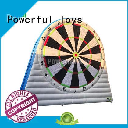 Double wall inflatable dootball darts