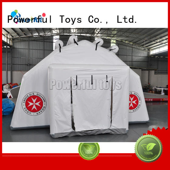 Powerful Toys inflatable bubble tent custom fast delivery
