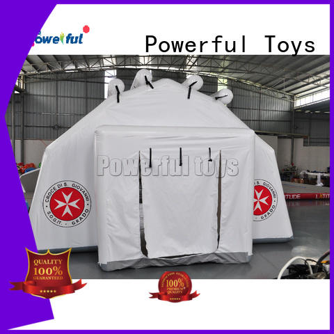 Powerful Toys inflatable bubble tent custom top brand