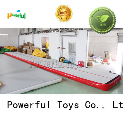 Powerful Toys soft air track pit for park