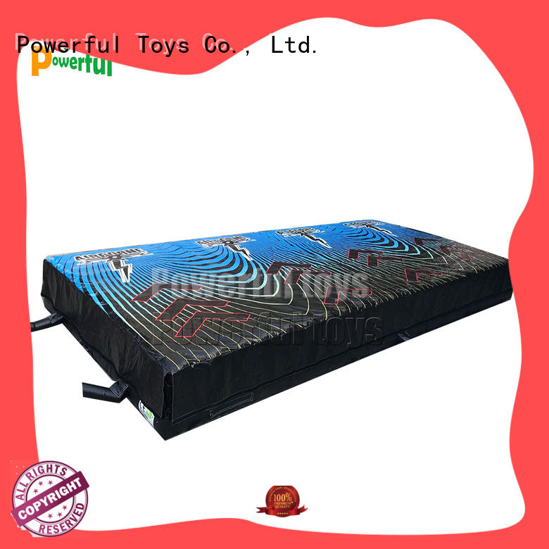 13.7x6.4x1.5m inflatable landing foam pit airbag for trampoline park