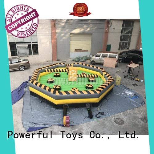 top brand wipeout inflatable light weight for fun
