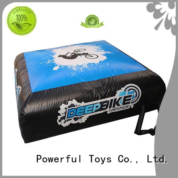 Powerful Toys training air track extreme kick