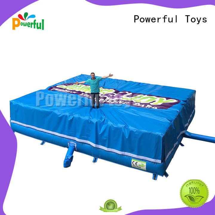 Powerful Toys foam pit airbag at discount for amusement park