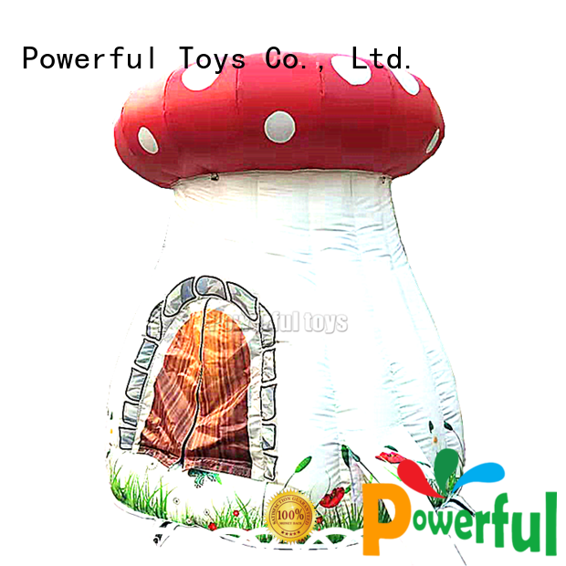 Powerful Toys high-quality inflatable dome tent custom fast delivery