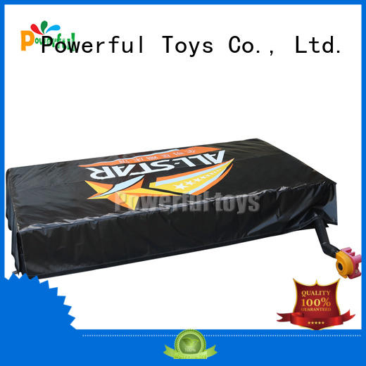 Powerful Toys airbag trampoline at discount for wholesale