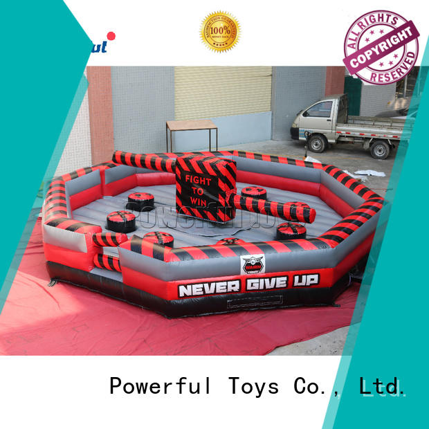 top brand wipeout inflatable outdoor for fun