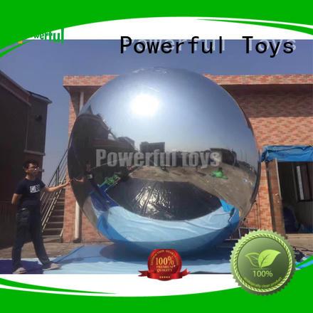 Customized size inflatable mirror balloon