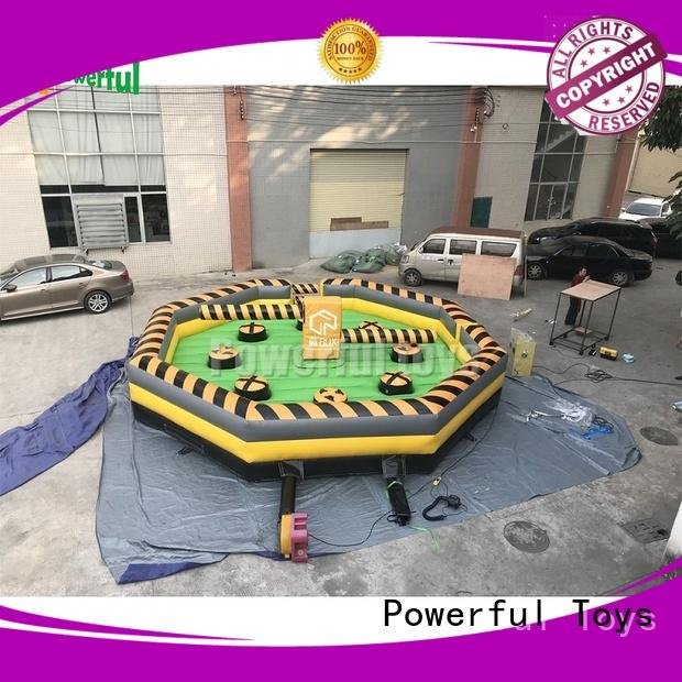 Powerful Toys high quality inflatable games at discount for adventure
