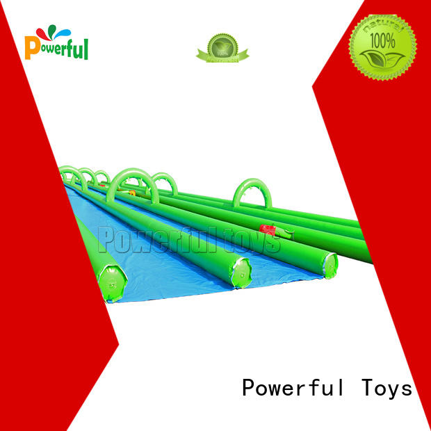 Powerful Toys durable inflatable water slides for adults light weight for fun