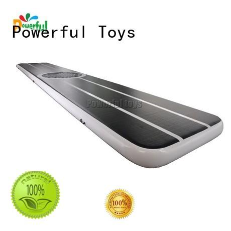 Powerful Toys football gym mat tumble for dancing