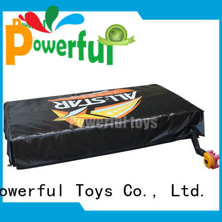 Powerful Toys inflatable air track extreme for ramp