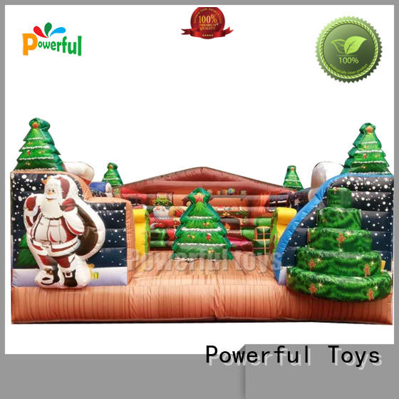 Powerful Toys custom inflatable bouncer castle top brand for customization