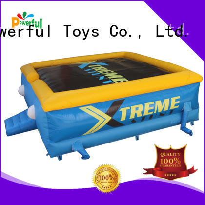 Powerful Toys professional stunt airbag platform for sport