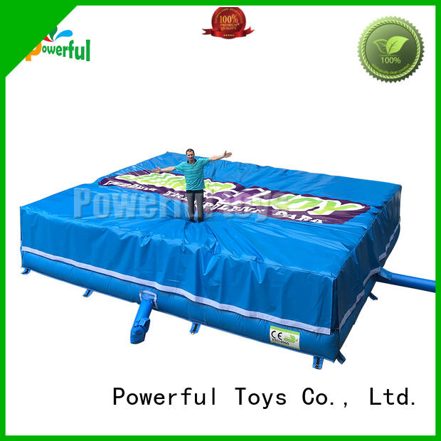 customized bag jump cheapest factory price for amusement park Powerful Toys
